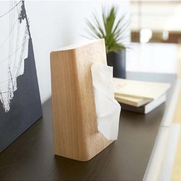 ティッシュケース ティッシュボックス ティッシュカバー 縦型 木製 Rin 山崎実業 ( ティッシュ リビング シンプル おしゃれ )|interior-palette|10