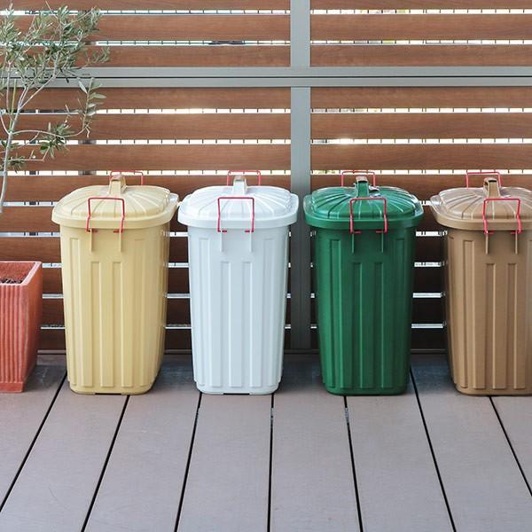 ゴミ箱 屋外 ふた付き PALE×PAIL ペールペール ダストビン 60L 大容量 ( ごみ箱 キッチン 60 リットル ダストボックス )|interior-palette|11