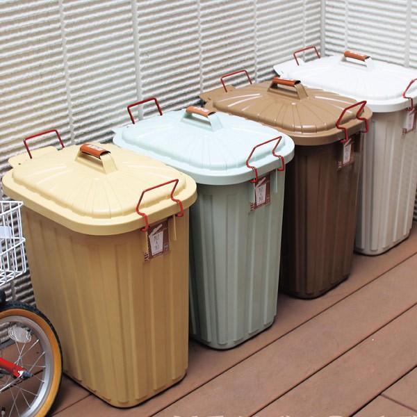 ゴミ箱 屋外 ふた付き PALE×PAIL ペールペール ダストビン 60L 大容量 ( ごみ箱 キッチン 60 リットル ダストボックス )|interior-palette|12