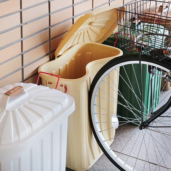 ゴミ箱 屋外 ふた付き PALE×PAIL ペールペール ダストビン 60L 大容量 ( ごみ箱 キッチン 60 リットル ダストボックス )|interior-palette|05