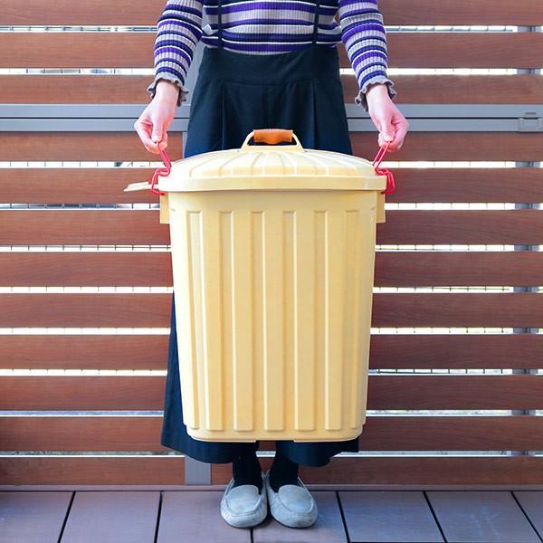 ゴミ箱 屋外 ふた付き PALE×PAIL ペールペール ダストビン 60L 大容量 ( ごみ箱 キッチン 60 リットル ダストボックス )|interior-palette|09
