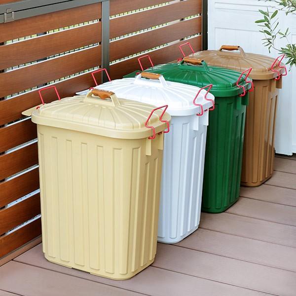 ゴミ箱 屋外 ふた付き PALE×PAIL ペールペール ダストビン 60L 大容量 ( ごみ箱 キッチン 60 リットル ダストボックス )|interior-palette|10
