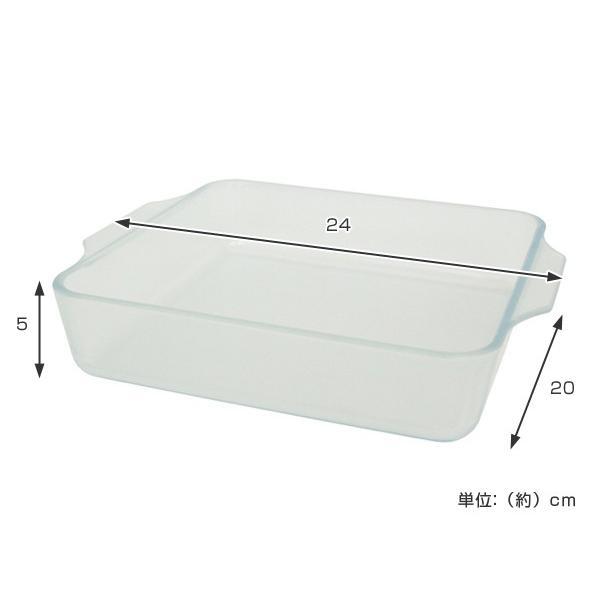 セラベイク 耐熱ガラス スクエアロースター M ( Cera Bake セラミック加工 オーブン ガラス容器 耐熱皿 ) interior-palette 03