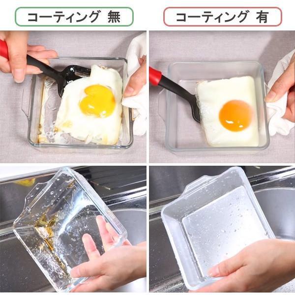 セラベイク 耐熱ガラス スクエアロースター M ( Cera Bake セラミック加工 オーブン ガラス容器 耐熱皿 ) interior-palette 05