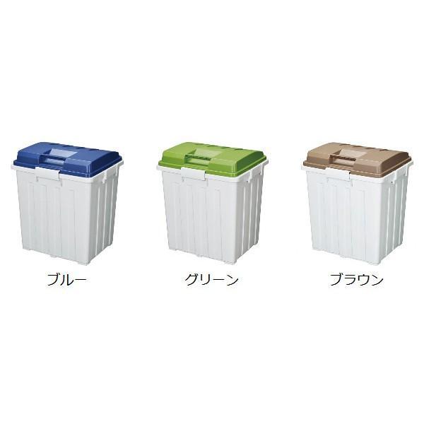 ゴミ箱 ふた付き 連結ハンドルペール 90L ( 屋外 大容量 大型 )|interior-palette|03