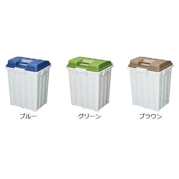 ゴミ箱 ふた付き 連結ハンドルペール 70L ( 屋外 大容量 大型 )|interior-palette|03