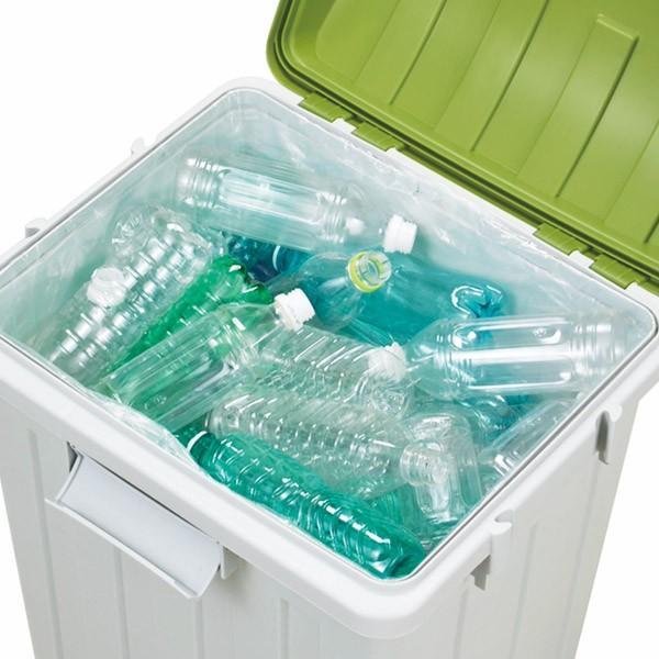 ゴミ箱 ふた付き 連結ハンドルペール 70L ( 屋外 大容量 大型 )|interior-palette|05