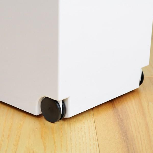 ゴミ箱 分別 2段 スリム パッキン付き 防臭 38L 縦型 分別ゴミ箱 ベーシックカラー ( キッチン 分別 ごみ箱 ふた付き プッシュ ペダル )|interior-palette|12