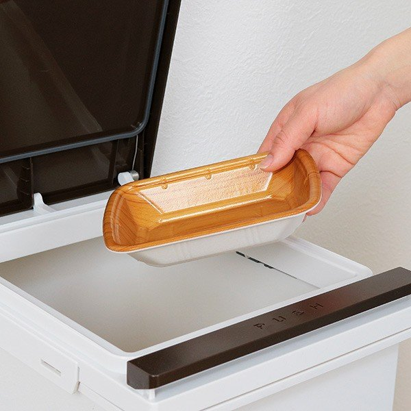 ゴミ箱 分別 2段 スリム パッキン付き 防臭 38L 縦型 分別ゴミ箱 ベーシックカラー ( キッチン 分別 ごみ箱 ふた付き プッシュ ペダル )|interior-palette|14