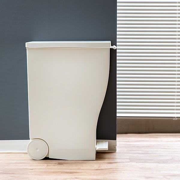 ゴミ箱 クード スリムペダル 33L kcud 分別 ふた付き キャスター付き ( ごみ箱 キッチン スリム パステル )|interior-palette|13