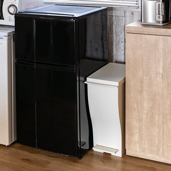 ゴミ箱 クード スリムペダル 33L kcud 分別 ふた付き キャスター付き ( ごみ箱 キッチン スリム パステル )|interior-palette|10