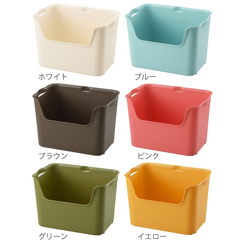 収納ボックス カタス L カラーボックス インナーボックス 引き出し 同色3個セット ( 収納ケース 収納 プラスチック ケース ボックス )|interior-palette|03
