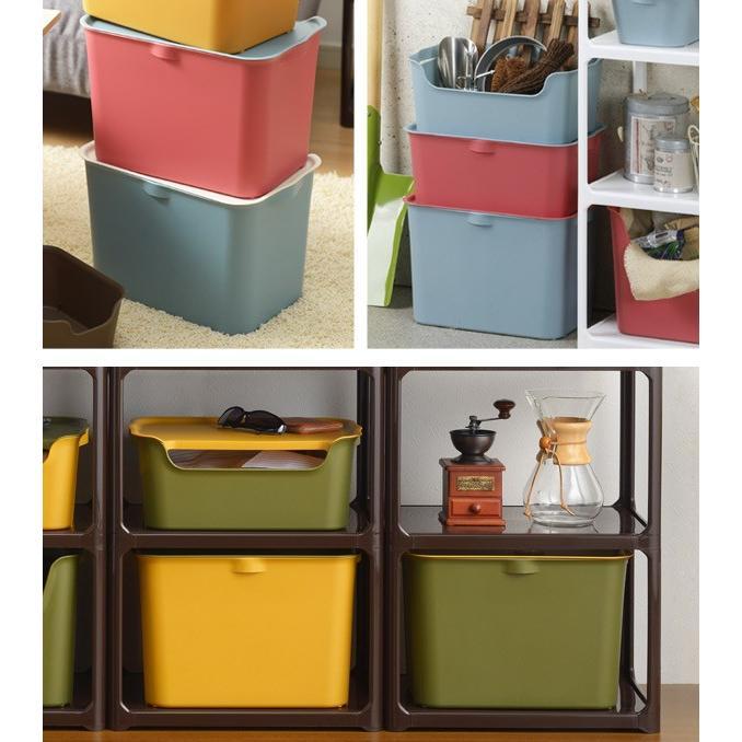 収納ボックス カタス L カラーボックス インナーボックス 引き出し 同色3個セット ( 収納ケース 収納 プラスチック ケース ボックス )|interior-palette|06