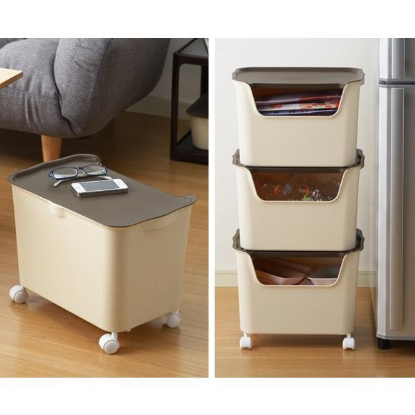 収納ボックス カタス L カラーボックス インナーボックス 引き出し 同色3個セット ( 収納ケース 収納 プラスチック ケース ボックス )|interior-palette|07
