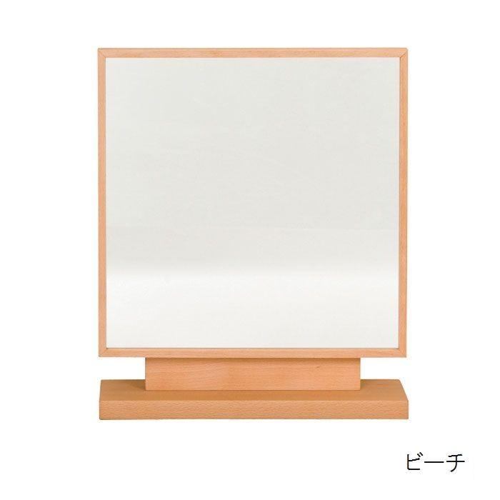 0 スタンドミラー 卓上鏡 卓上ミラー コンセント付き 40幅 日本製 完成本 木製 木製 無垢 素材が選べる7素材 おしゃれ 角度調整 送料無料