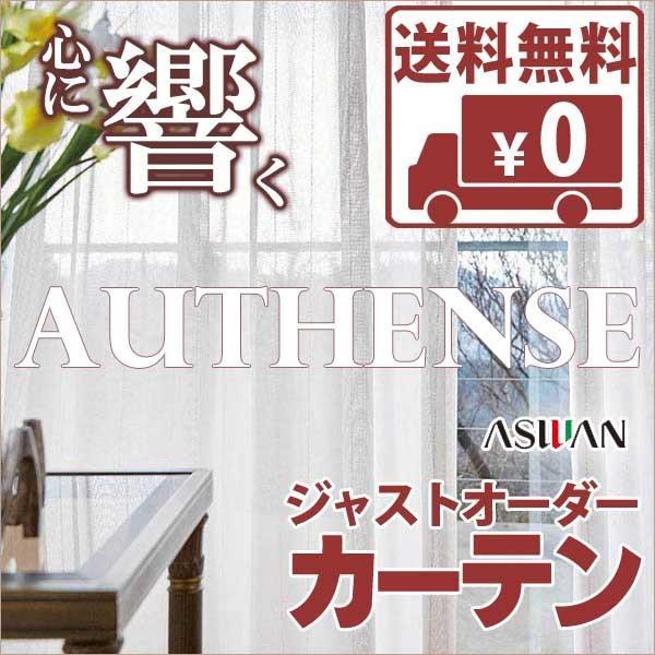 送料無料! カーテン&シェード アスワン オーセンス AUTHENSE FUNCTION LACE E6362 ハイグレード縫製 約2倍ヒダ レース