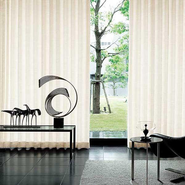 送料無料 川島セルコン 高級オーダーカーテン filo filo縫製 約2.3倍ヒダ hanoka ラチェレ FF1100・1101