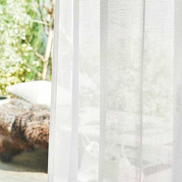 送料無料 川島セルコン 高級オーダーカーテン filo スタンダード縫製 約1.5倍ヒダ レース Transparent カスミソウ FF1216・1217