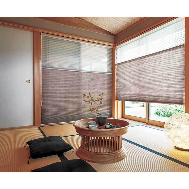 トーソー プリーツスクリーン しおり 25(A価格帯) シングル チェーン 和調ベーシック 色葉(いろは) 幅 200×高さ 220cm まで interiorkataoka 02