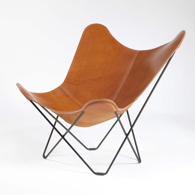BKF BKF Butterfly Chair / Pampa Mariposa / Polo-褐色 LeatherBKFバタフライチェア / パンパ・マリポサ / ポロブラウン・レザーパーソナル/リラッ