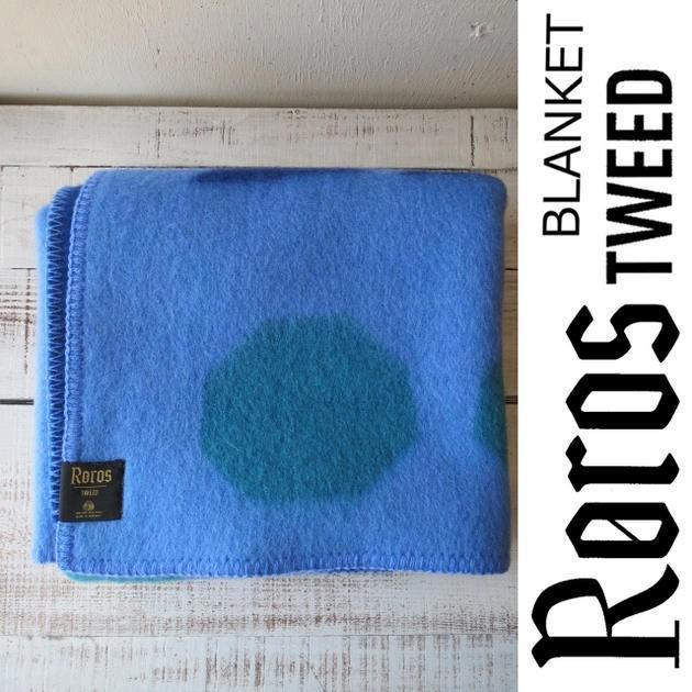 ROROS TWEED / ロロス ツイード ブランケットANDANTE-MINI 青 by AOI HUBER-KONO / アンダンテ-ミニ 色:ブルー by 葵 フーバー 河野