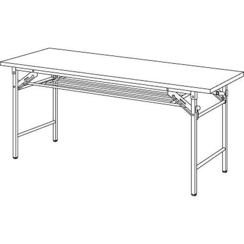 弘益 折りたたみテーブル チーク YKT-1560(TE) 1台