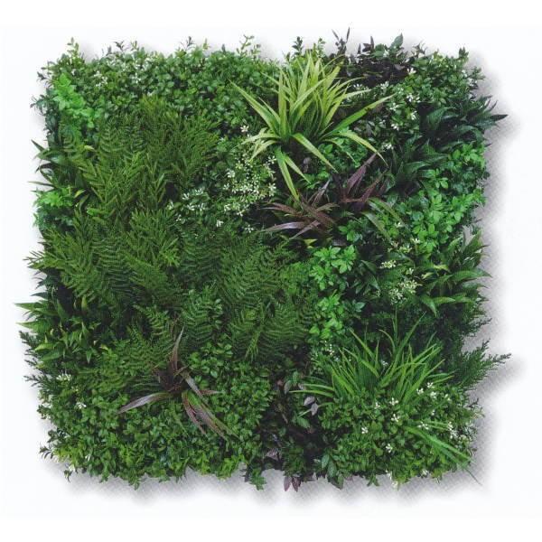 グリーンフィールド ビスタグリーン 壁面用人工芝 幅約80cm×高さ約80cm VG-P3P(本体3枚入+固定用部材12セット入)