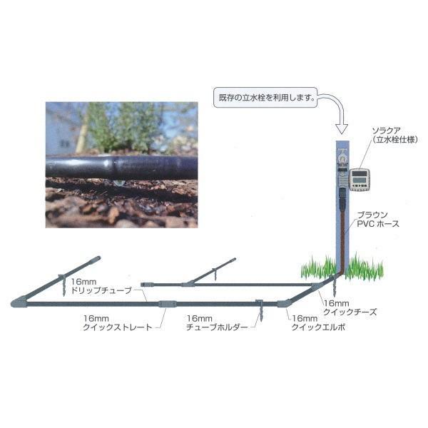 グローベン ドリップチューブキット C10SK810 設置簡単自動散水