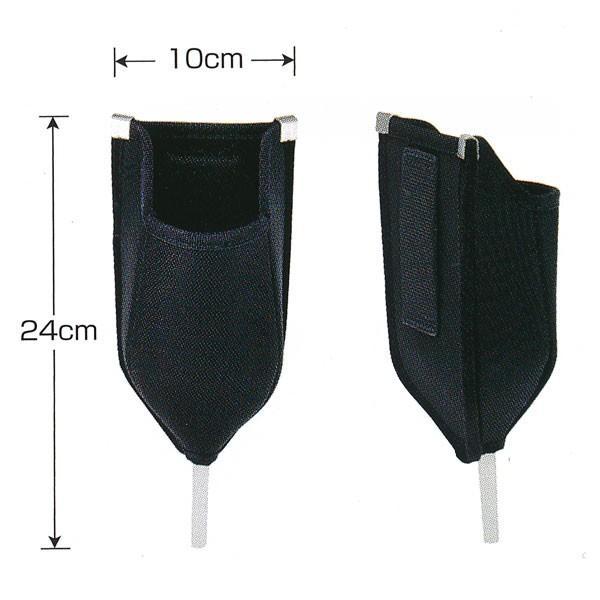 広島 プロユース コーク入れ ブラック2 775-25 腰袋 送料無料 品質保証 新品