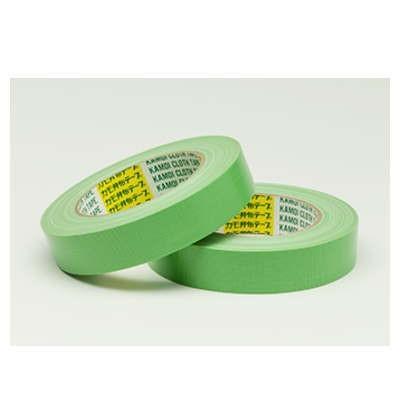 カモイ 吹付塗装用 布粘着テープ NO.6708 25mm巾×25m長 60巻