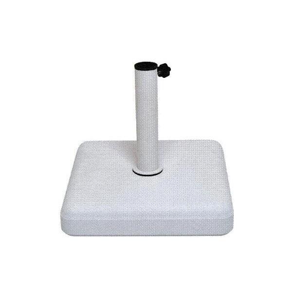 ニチエス パラソル用ベース 4745 ホワイト 450×H450mm