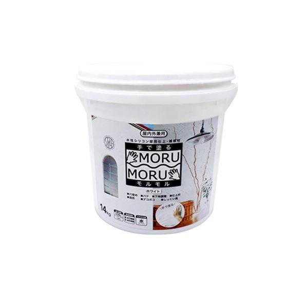ニッペ しっくい風塗料 STYLE 全品最安値に挑戦 モルモル 値引き MORUMORU 14kg