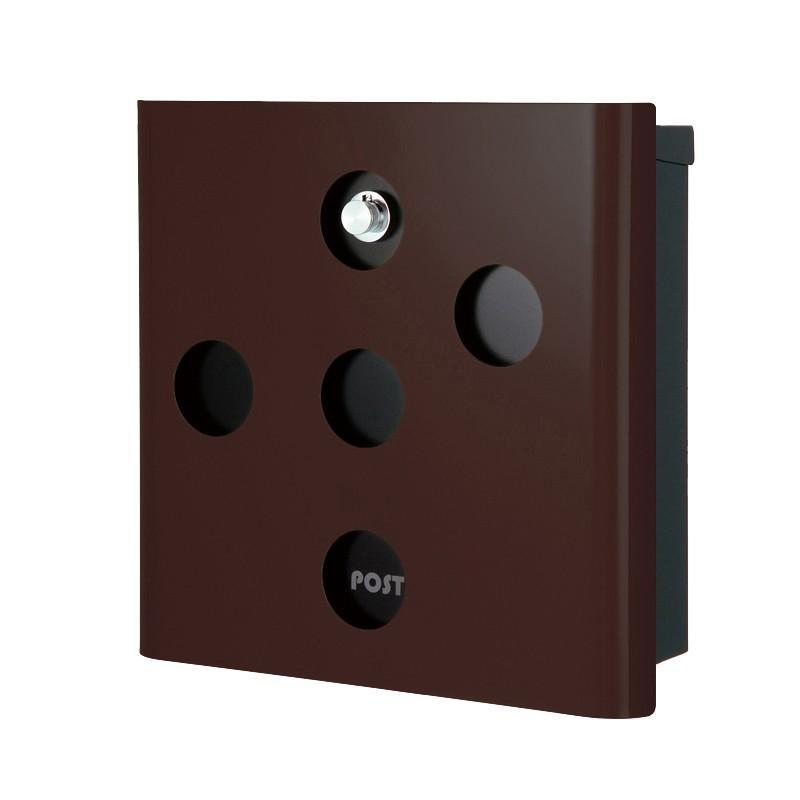 ヴァリオ ネオ スキン イレギュラー 壁掛けタイプ(ダイヤル錠付) フォレストブラウン NA1-OA03FB