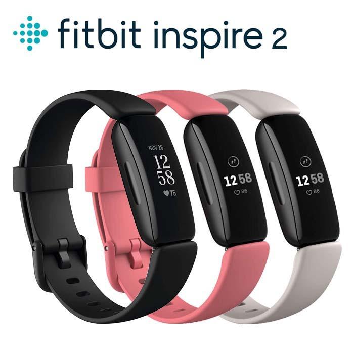 《週末限定タイムセール》 1年保証 Fitbit Inspire 2 インスパイア フィットビット スマートウォッチ セットアップ