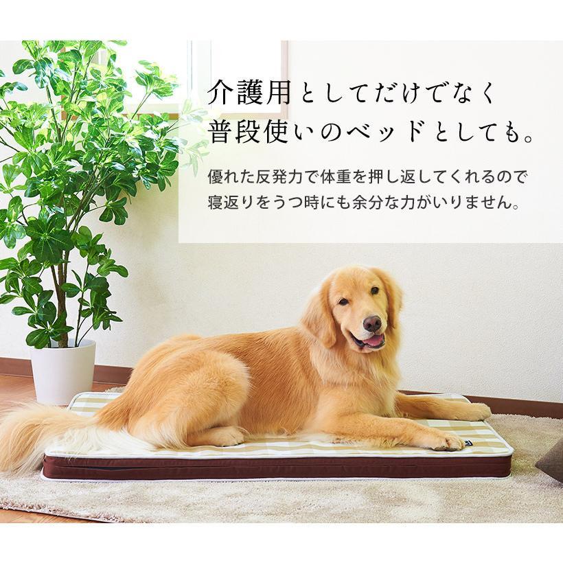 (OFT) 犬の介護マット クッションエアー XL NEWブラウン【送料無料(北海道・沖縄・離島等除く)】(ペット 犬 イヌ 老犬 足腰)|ip-plus|07