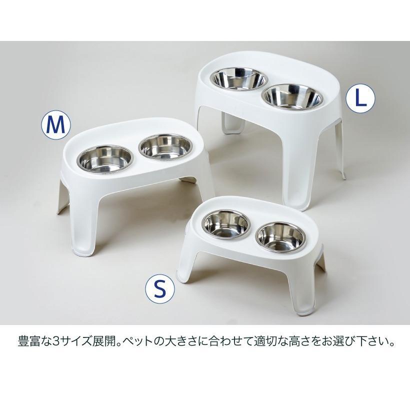 (OFT) SKYBAR Sサイズ (ペット 食事台 テーブル フードボウルスタンド ヘルニア予防 食べやすい 高さ 食べこぼし防止 水飲み)|ip-plus|08