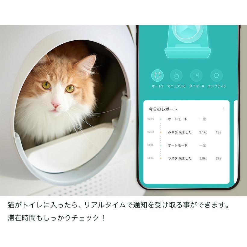 (OFT) 自動ネコトイレ CATLINK 日本正規販売店(送料無料(北海道・沖縄・離島等除く)) (キャットリンク ねこ 猫) ip-plus 13