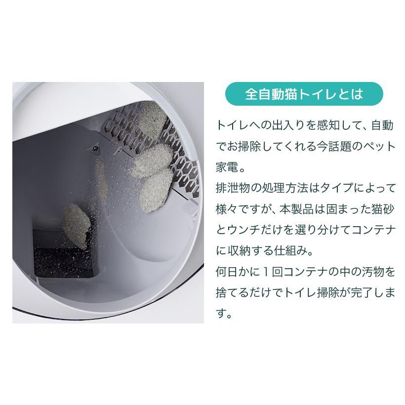 (OFT) 自動ネコトイレ CATLINK 日本正規販売店(送料無料(北海道・沖縄・離島等除く)) (キャットリンク ねこ 猫) ip-plus 03