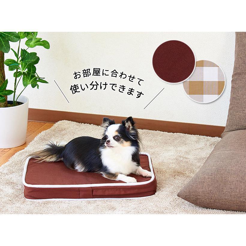 (OFT) 犬の介護マット クッションエアー S NEWブラウン (ペット 犬 イヌ 老犬 足腰 反発 ベッド 丸洗い 介護 マット OFT) ip-plus 15