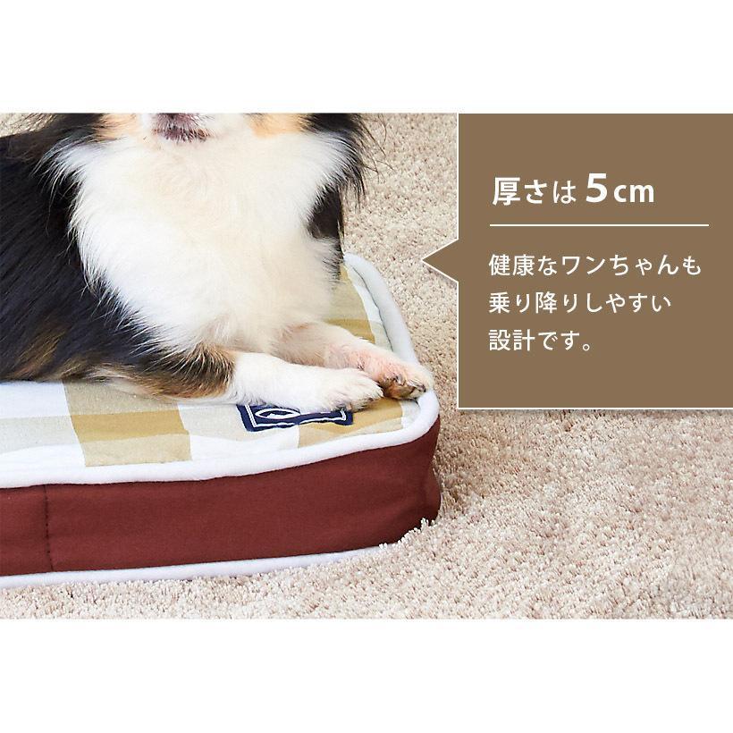 (OFT) 犬の介護マット クッションエアー S NEWブラウン (ペット 犬 イヌ 老犬 足腰 反発 ベッド 丸洗い 介護 マット OFT) ip-plus 09