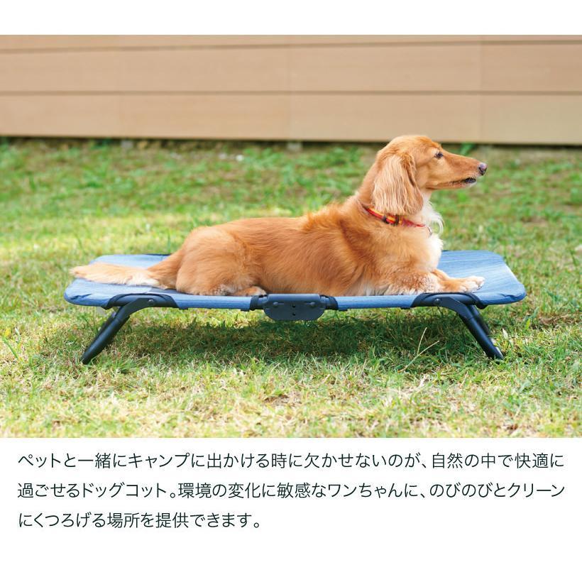 (OFT) ライフスタイルペットコット S (おすすめ おしゃれ ランキング 折りたたみ メッシュ 人気 ペット 犬 イヌ キャンプ アウトドア ベッド) ip-plus 04