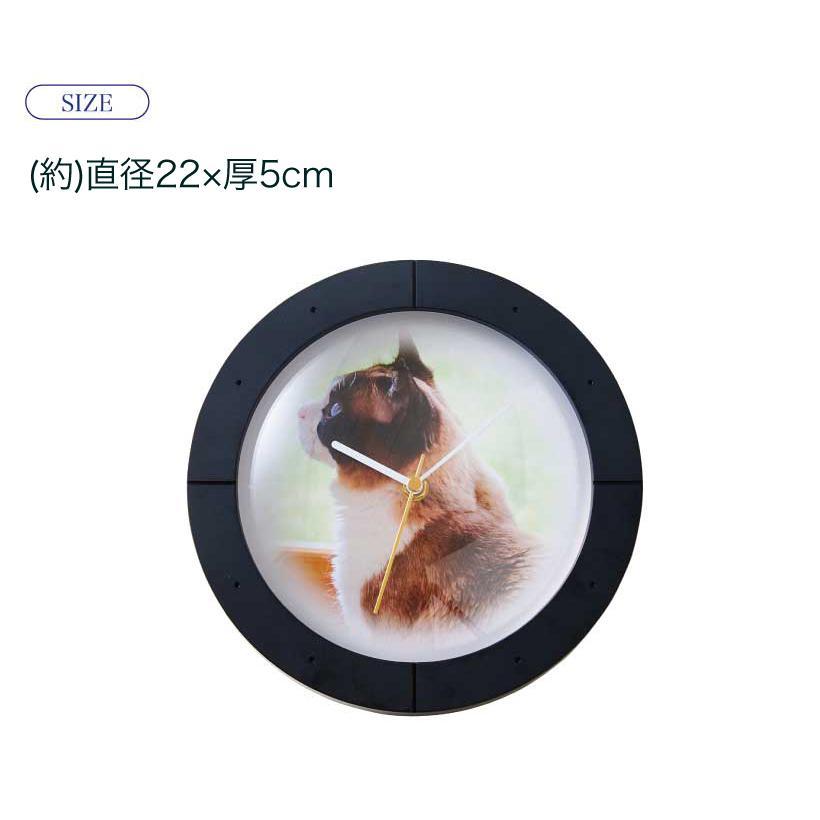 (OFT) PRECLOCK プレクロック (ランキング おすすめ 時計 写真 オーダーメイド おしゃれ 壁掛け 写真入り 壁掛け時計 ペット)|ip-plus|14