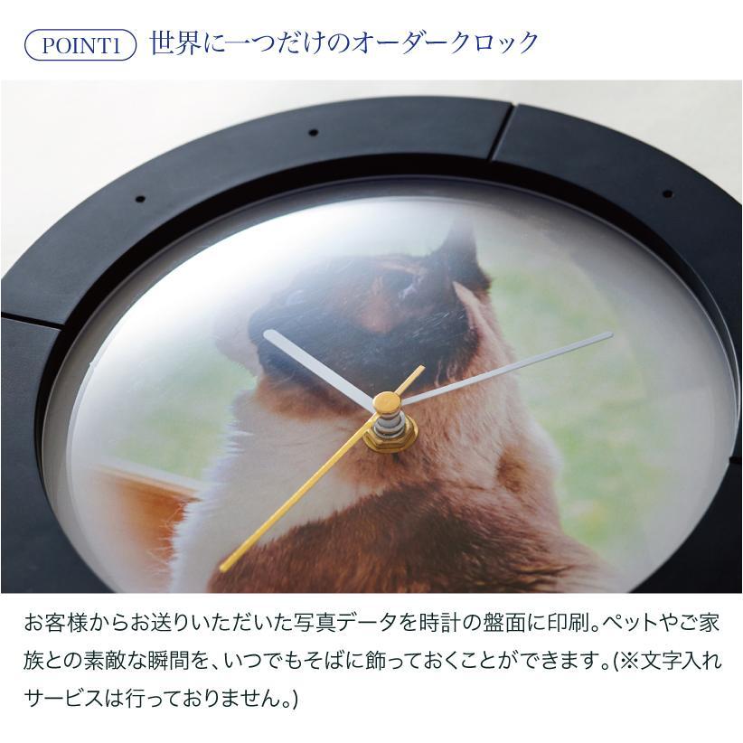 (OFT) PRECLOCK プレクロック (ランキング おすすめ 時計 写真 オーダーメイド おしゃれ 壁掛け 写真入り 壁掛け時計 ペット)|ip-plus|03