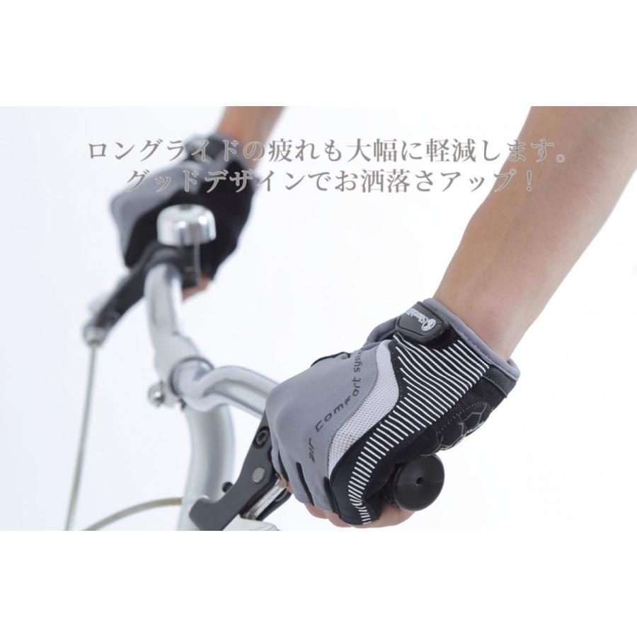 サイクルグローブ  自転車 グローブ サイクリンググローブ 夏 指切り 指ぬき 半指 指なし 手袋  登山グローブ メッシュ  おしゃれ|iphone-smart|08