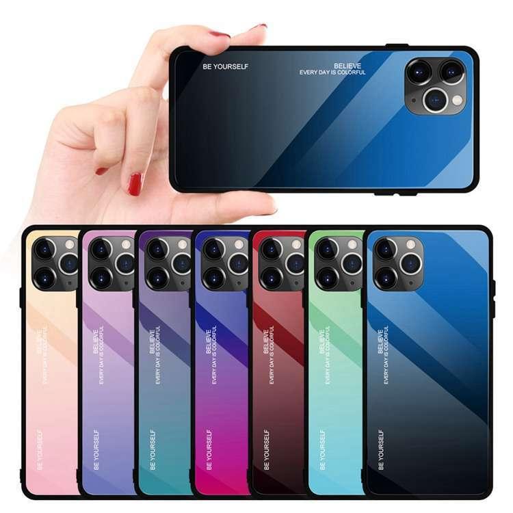 アイフォンケース グラデーション iPhone SE第二世代 iPhone7 8 7Plus 8Plus iPhone11 11Pro 11Pro Maxケース X XS XS Max XR 保護 iphonetecyougata11 11