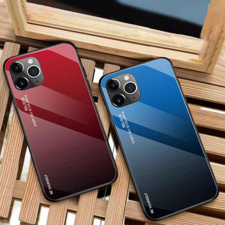 アイフォンケース グラデーション iPhone SE第二世代 iPhone7 8 7Plus 8Plus iPhone11 11Pro 11Pro Maxケース X XS XS Max XR 保護 iphonetecyougata11 03