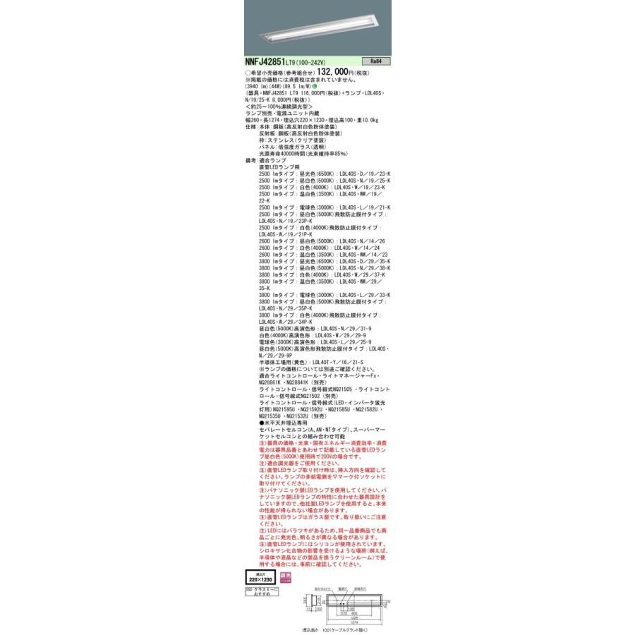パナソニック NNFJ42851LT9