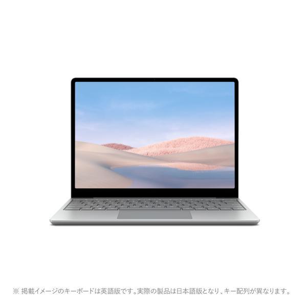 新品 マイクロソフト Surface Laptop Go 1ZO-00020[12.4型/Core i5 1035G1/eMMC64GB/メモリ4GB/Windows 10(Sモード)/Office 付き/プラチナ][在庫あり][即納可]|iponnetshop|02
