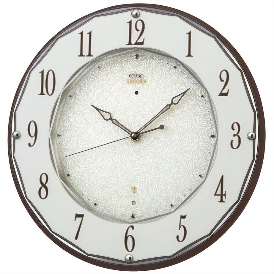 【セイコー・エムブレム】SEIKO EMBLEM 電波掛け時計 HS524B 【時の逸品館】