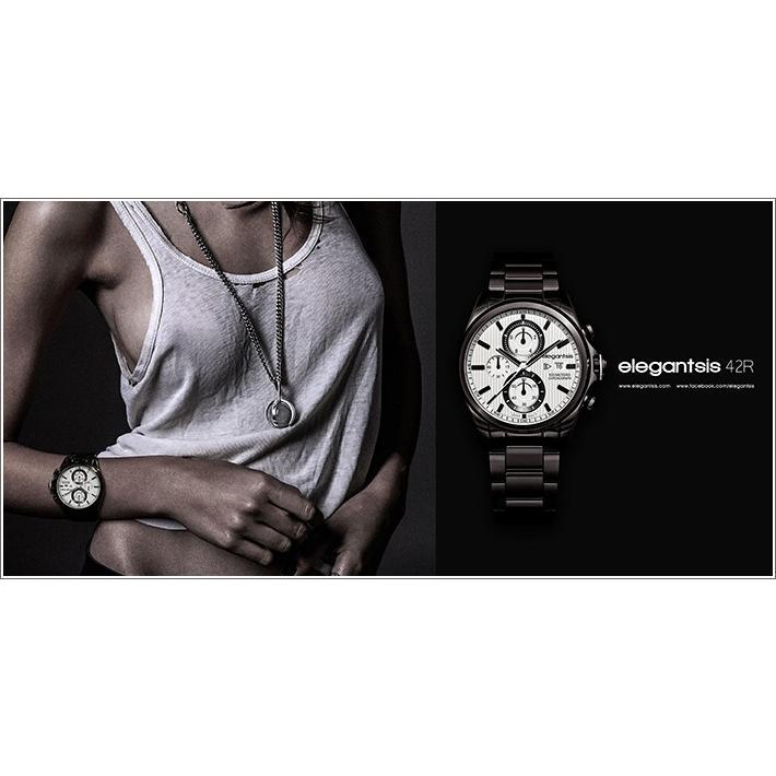 エレガントシス elegantsis 腕時計 ELJT42R-6W06MA レーシングスタイル スーパーバイクモデル|ippin|02